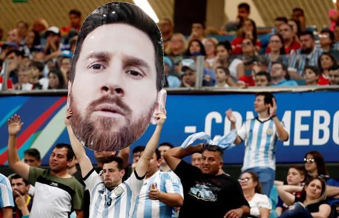 Messi lo ha ganado todo con el Barca pero poco con la Selección. Foto: EFE