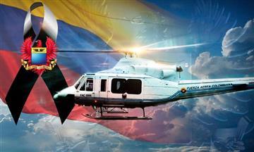 Seis fallecidos tras accidente del helicóptero accidentado