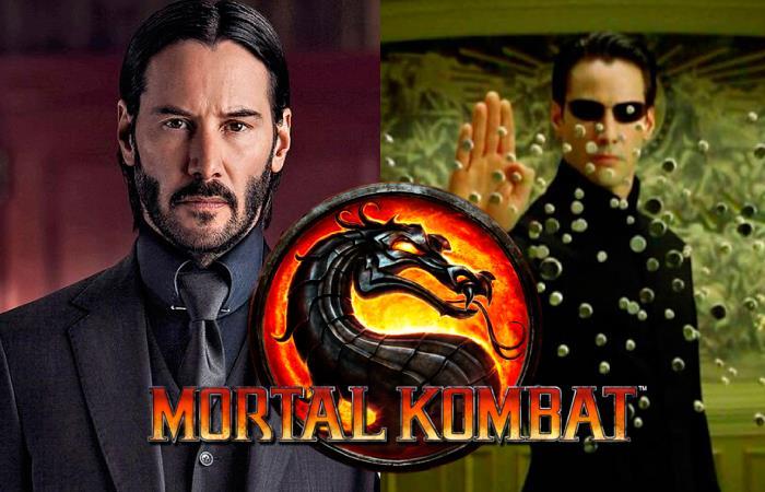 Keanu Reeves Mortal Kombat 11 Neo Matrix John Wick