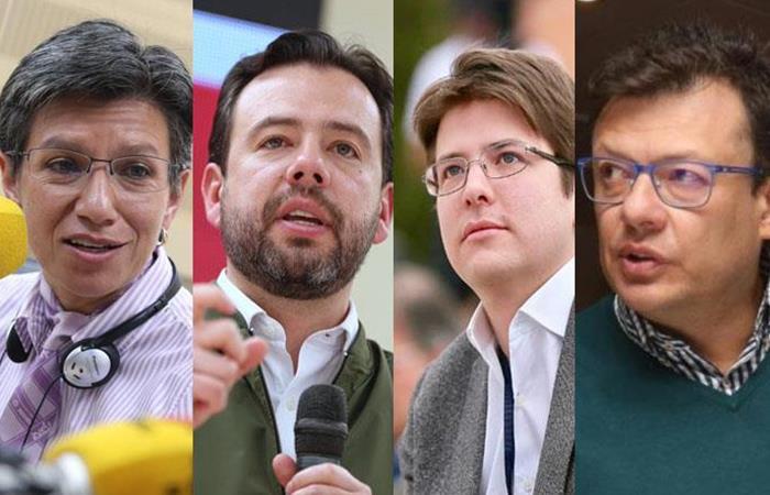 Los candidatos fueron tendencia en redes sociales. Foto: Twitter