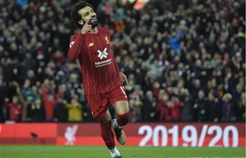 Esta fue la gran actuación Salah en victoria de Liverpool ante el Tottenham
