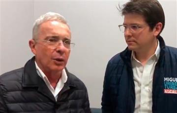 """Elecciones 2019: """"Voto por la juventud del doctor Miguel Uribe"""": Álvaro Uribe"""