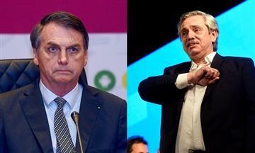 """""""Una mala elección"""": Bolsonaro se abstuvo de felicitar a Alberto Fernández, nuevo presidente de Argentina"""