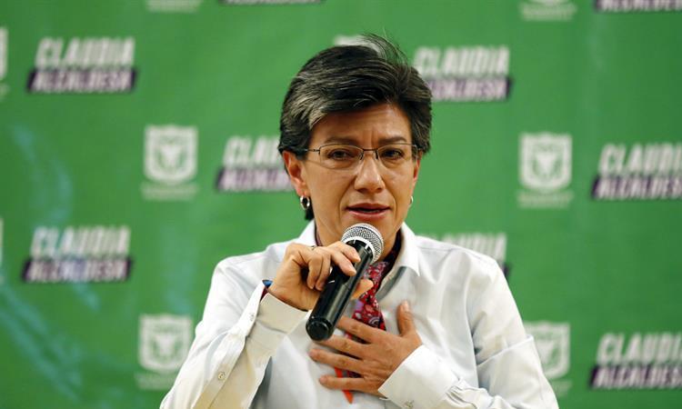 Claudia López, alcaldesa electa de Bogotá. Foto: EFE