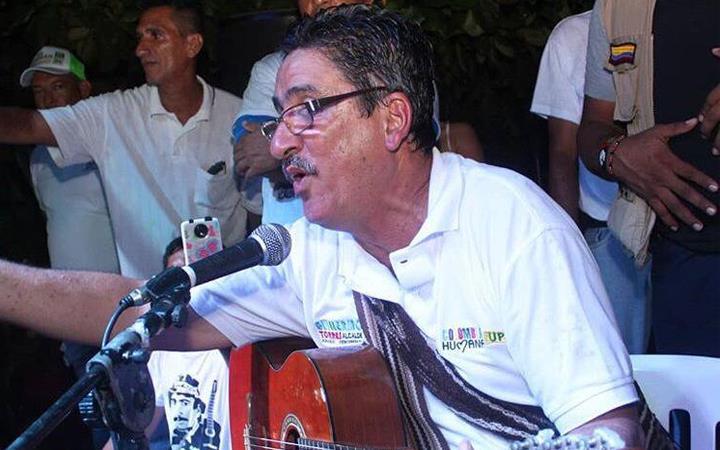 Guillermo Torres, alcalde electo de Turbaco (Bolívar). Foto: Twitter