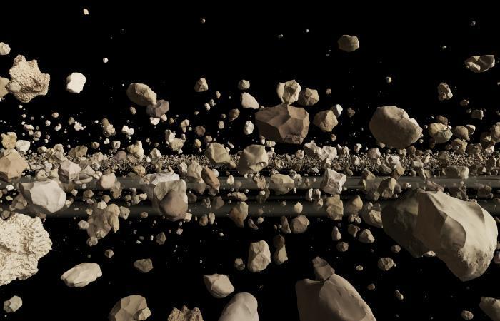 El asteroide considerado ahora un planeta enano destronó del título a una roca vecina. Foto: Shutterstock