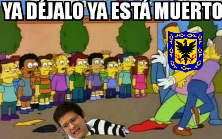 Meme de Miguel Uribe Turbay, excandidato a la Alcaldía de Bogotá. Foto: Twitter