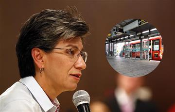 Claudia López no rechazaría la construcción de dos troncales más de TransMilenio