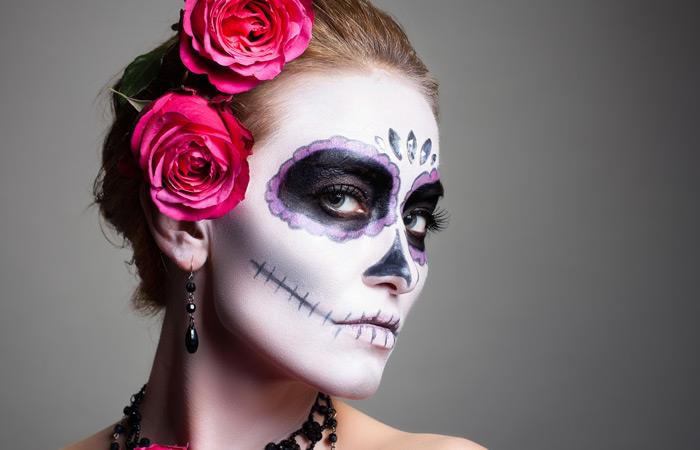 Como hacer Catrina Halloween Vittory Peluquería Fontanar Centro Comercial
