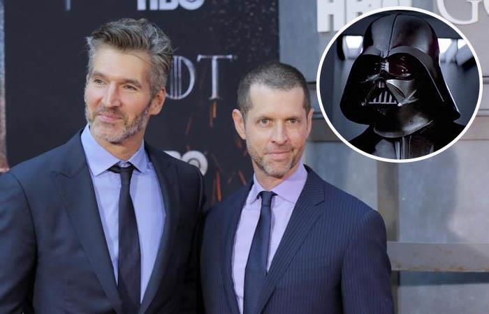 David Benioff y D.B. Weiss ya no harán parte de Star Wars. Foto: Twitter