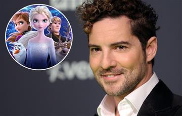 """David Bisbal interpretará la canción de """"Frozen 2"""""""