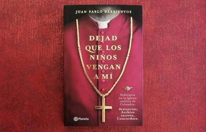 Portada del libro de Juan Pablo Barrientos. Foto: Twitter