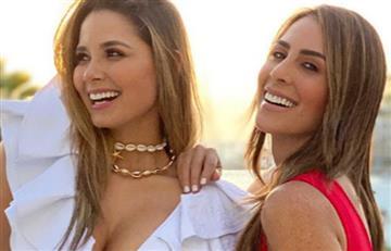 Lujosa despedida de soltera de Melissa Martínez en Aruba junto a Carolina Soto y más famosas