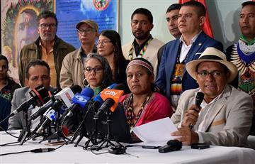 Comunidad indígena exige a la CIDH en Colombia tras la masacre del Cauca
