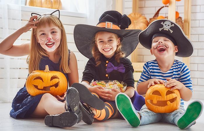 Los mejores dulces para alimentar a los niños en Halloween