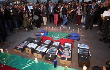 """""""Somos víctimas de un genocidio"""": Organización Nacional Indígena de Colombia"""