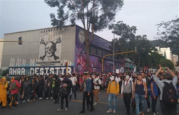 Minuto a minuto: Así transcurren las marchas estudiantiles en Bogotá