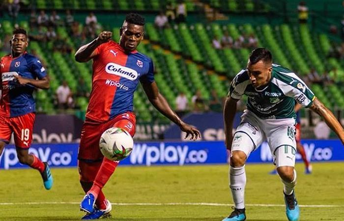 Deportivo Cali y el DIM buscarán el título de la Copa Águila. Foto: Twitter