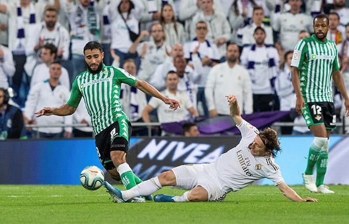Real Madrid perdió la chance de ser líder solitario de la Liga de España. Foto: EFE