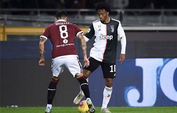Con Cuadrado en la cancha, Juventus se impuso en el clásico de Turín