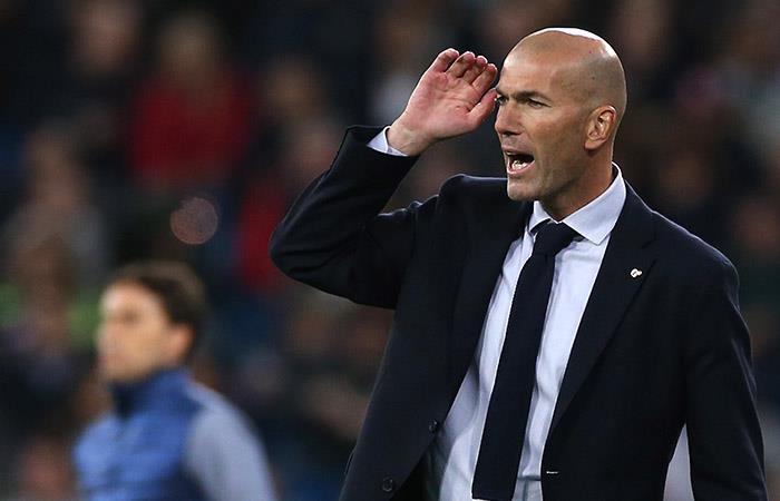 Zidane habló tras el 'tropiezo' de Real Madrid ante Betis. Foto: EFE