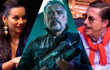 "Natalia Reyes regañaba a ""Terminator"" por usar botellas plásticas"