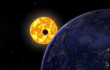 El Sol, la Tierra y Mercurio se alinearán el 11 de noviembre
