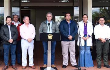 Presidente Duque anunció medidas para afrontar la crisis del Cauca
