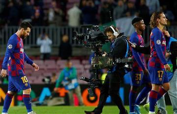 Barcelona se sigue 'desinflando', esta vez ante un débil equipo en la Champions