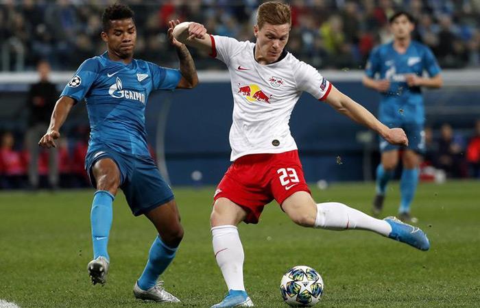 Resultados goles Champions League Zenit vs. Leipzig Wilmar Barrios