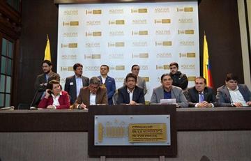Bancada alternativa brinda acompañamiento al paro nacional del 21 de noviembre