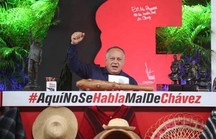 Diosdado Cabello, considerado el segundo hombre más importante del régimen chavista en Venezuela. Foto: Twitter