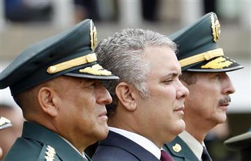 Duque agradeció a Guillermo Botero por su gestión como ministro de Defensa