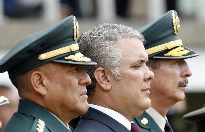 Iván Duque felicita a Guillermo Botero