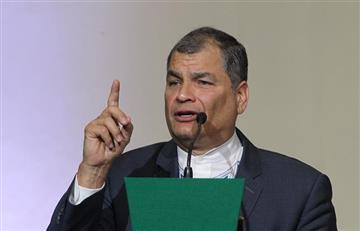 Corte ecuatoriana reafirmó prisión preventiva a Rafael Correa por caso de sobornos