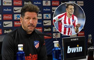 Pese a su buen rendimiento, Simeone dejaría en la banca a Arias ante Espanyol