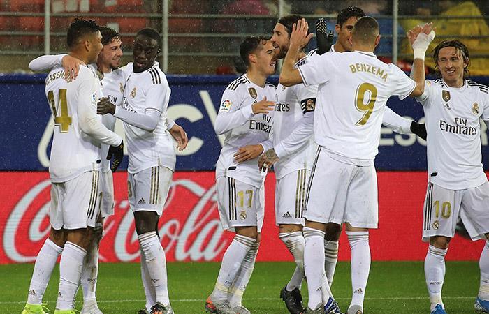LaLiga Resultado Eibar Real Madrid James Rodríguez