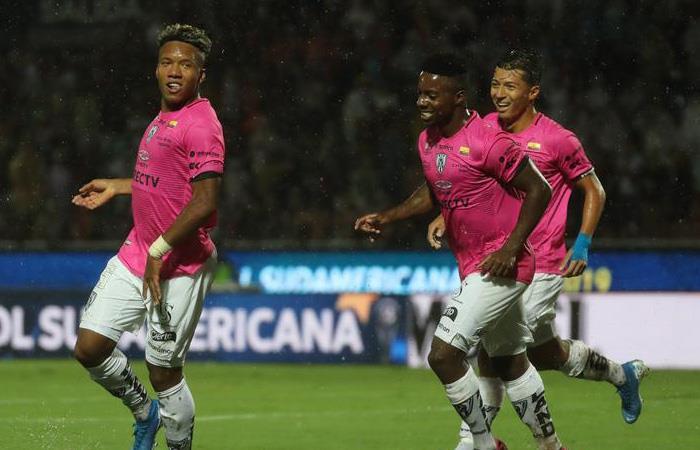 Resultado final Copa Sudamericana Colón vs. Independiente del Valle Campeón