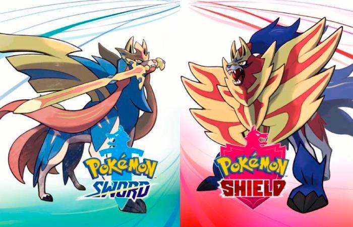 Zacian y Zamazenta serán los pokémon legendarios de estas versiones. Foto: Twitter