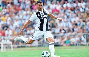 La pataleta de Cristiano Ronaldo tras ser sustituido