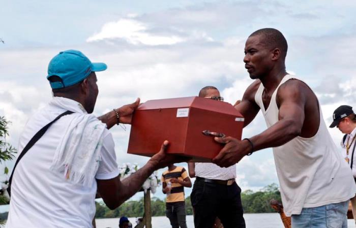Las víctimas perdieron la vida el 2 de mayo de 2002 durante un enfrentamiento armado. Foto: Twitter