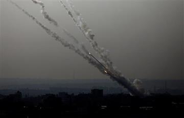 [VIDEO] Cohetes palestinos impactan contra población civil en Israel