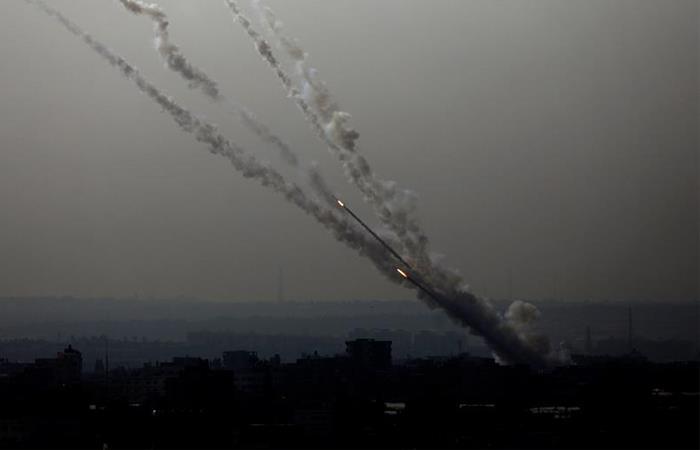 Ataque en la Franja de Gaza. Foto: EFE