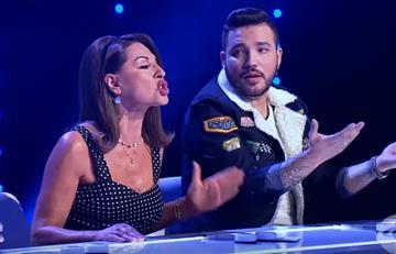 [VIDEO] Amparo Grisales estalló por discusión con Jessi Uribe y dejó botado el programa