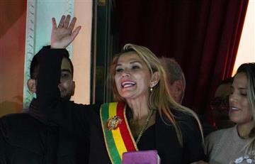 Gobierno colombiano reconoce a Jeanine Áñez como presidente interina de Bolivia