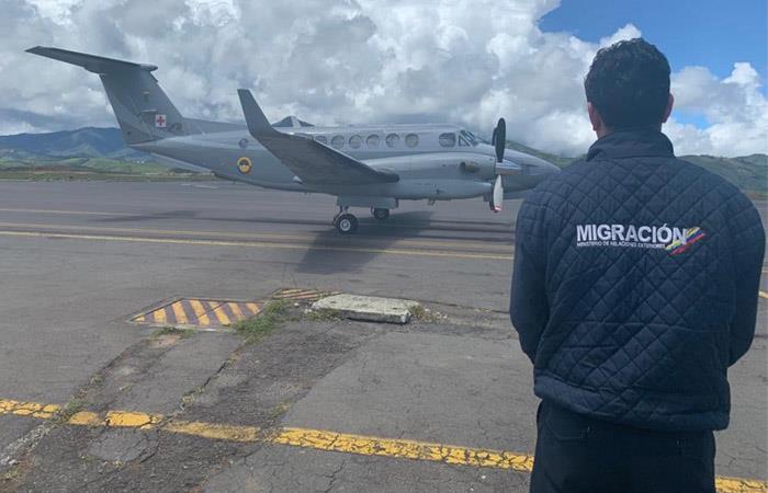 Migración Colombia expulsión extranjeros protestas 21 de noviembre
