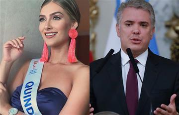 [VIDEO] Señorita Colombia pidió a Iván Duque poner atención a quienes marcharán este 21 de noviembre