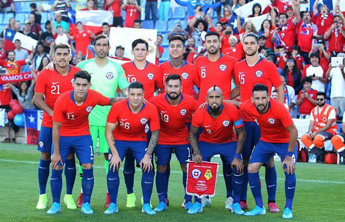 Declaraciones jugadores de Chile amistoso vs Perú