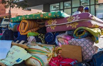 Casi mil personas fueron desplazadas durante el último mes en Colombia