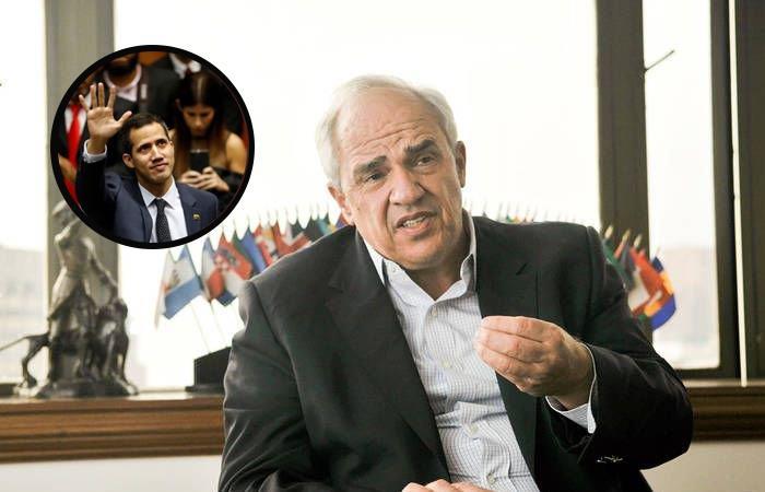 Ernesto Samper Presidentes interinos Venezuela Bolivia